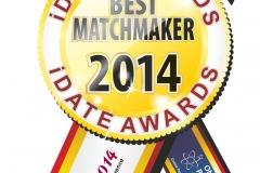 iDate Award Best Matchmaker Winner 2014