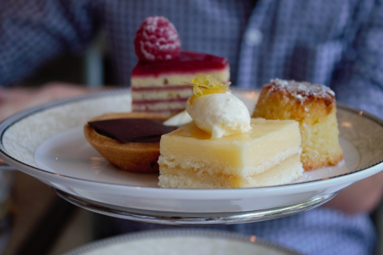 Afternoon tea at royal garden kensington