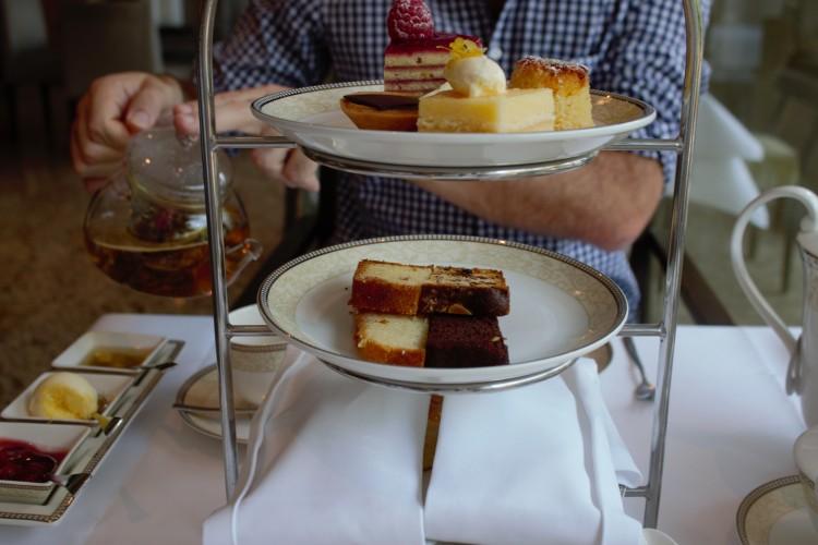 cake tier at royal garden hotels