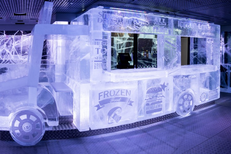 ice bar cover